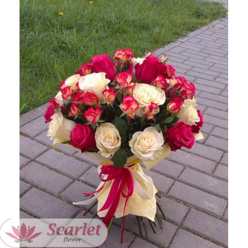 Тайно подарить букет розы, магазин цветов флоренция в витебске