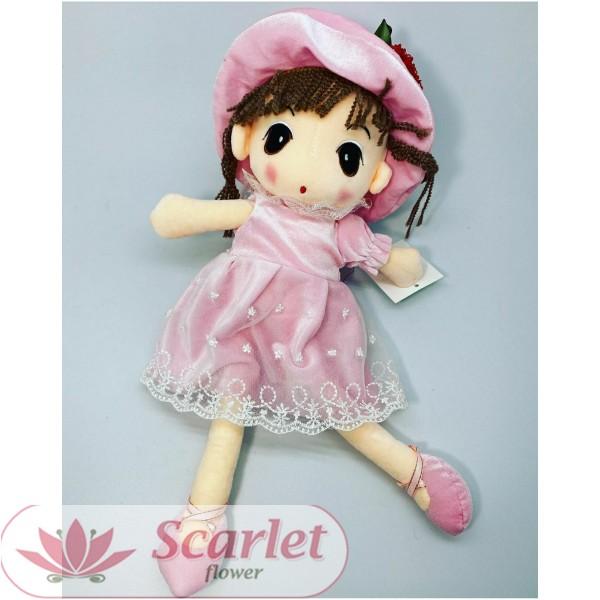 Кукла из плюша