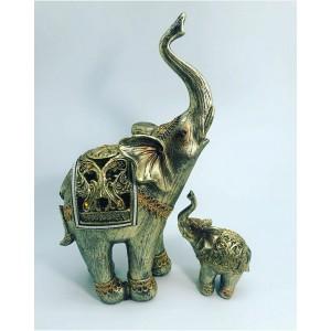 "Фигурка ""Слон и слоненок"""